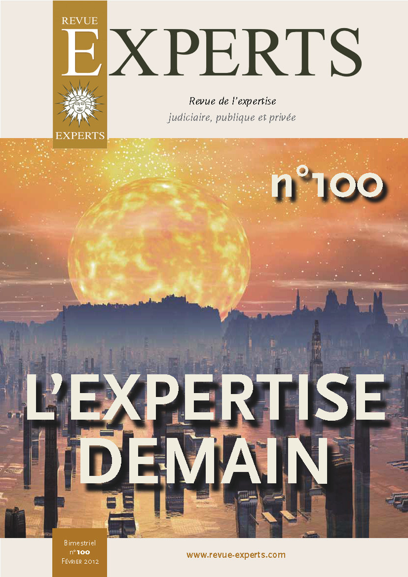 Couverture Revue-Experts